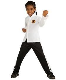 Karate Boy Kostüm - Big Boys' Child Karate Kid Costume Large