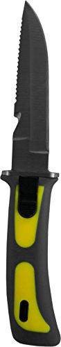 normani Tauchermesser/Fischermesser Farbe Gelb