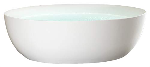 Freistehende Badewanne TERRA Acryl - 186 x 88 cm - weiß