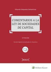 Comentarios a la Ley de Sociedades de Capital (3ª ed.)