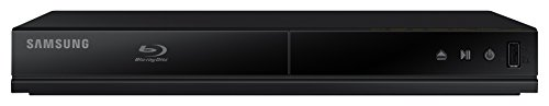 Samsung BD-J4500R/ZF - Lector Blu-ray con USB 2.0, color negro