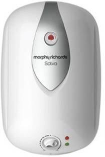 Morphy Richards Salvo 10-Litre Vertical Storage Water Heater (White)