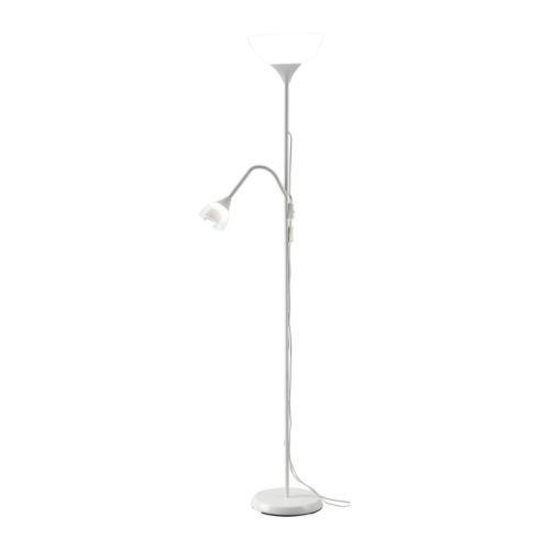 IKEA 301.451.29Boden Deckenfluter/Lesen Lampe, weiß
