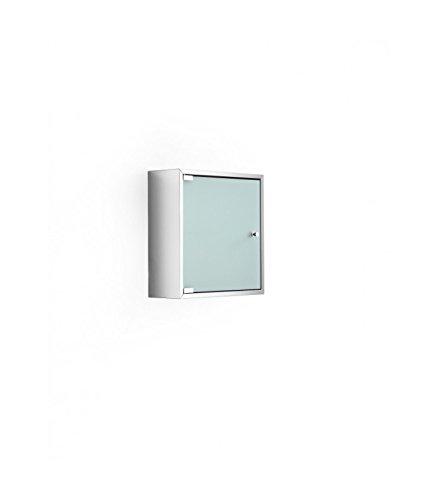 Lineabeta 51570.29.81Hängeschrank mit Tür mit Glas Serie Pika