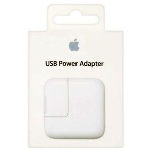 Apple Original MD836HNA 12W USB Power Adapter (White)