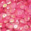 Pailletten Pink irisierend 6mm - 1400Stück. Styropor.