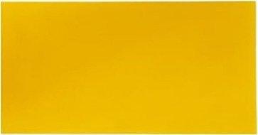 Wachsplatte sonnengelb 20x10 cm - 9720 - Verzierwachsplatte 200x100 mm für Kerzen
