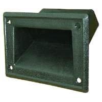 PA Seiten Einbaugriff Kunststoff für Boxen Lautsprecher Side Handle Einbau Griff Halter schwarz