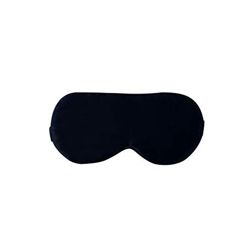 JFya Augenmaske Schlaf Seide Brille Seide Seide Schlaf atmungsaktiv Unisex Nickerchen Schlaf komfortable Reisetour (Farbe : E)