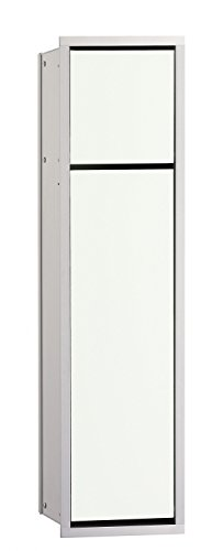 EMCO ASIS WC-Modul (150) UP, 654mm, ohne EB-Rahmen, chrom/optiwhite, HSN 974027840