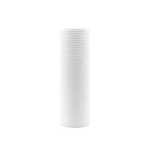 Einweg-Küchentücher, wiederverwendbare Küchentücher, wiederverwendbar, maschinenwaschbar, Rayon aus Bambus-Papierhandtuch, holz, weiß, 25 * 25cm -