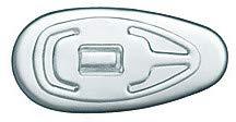 50 x Brille Nasenpads Silikon Tropfenförmig Einsteckbar/ Einschraubbar