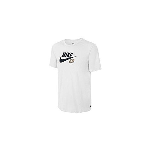 Nike SB DF Icon Logo Tee Shirt, Kurzarmhemd L weiß (weiß/weiß/Khaki) (Urban Icon-t-shirt)