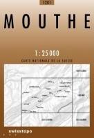 Swisstopo 1 : 25 000 Mouthe