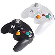 TechKen Nintendo WII Controller Gamecube WII U Ersatz Wired Classic Controller Gamepad für Nintendo Gamecube WII (Gamecube Remote Wii Für)