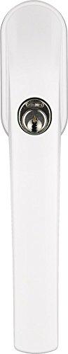 ABUS FG300 W AL0125 abschließbarer Fenstergriff weiß gleichschließend, 373794