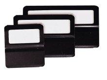 Exacompta 145101B Fenster Kartenreiter (25 mm) 25er Pack schwarz