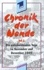 Teil 2: Die entscheidenden Tage im November und Dezember 1989