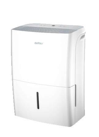 Daitsu ADDP-20 Deshumidificador Digital ELVEGAST 20L/ Capacidad 20 litros día/Mínimo Nivel Sonoro/Área de Aplicación de hasta 52 m2, Blanco, 385 Mm X 300 Mm X 530