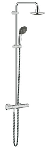 Preisvergleich Produktbild GROHE Vitalio Start Duschsystem, reduzierter Wasserverbrauch mit vollem Duschstrahl, 9.4 L/Min 27960000