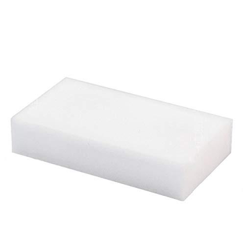 zssmGood 20Pcs/Set-Schaum-Schwamm-Radiergummi-Duster Wipes Auto Geschirrreinigung Reiniger Pads Badezimmer Werkzeug Home Küchenzubehör Weiß