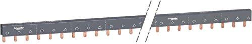 Schneider Electric A9XPH357 Acti 9 Peines de Conexión Fácil de Cortar 3P,...