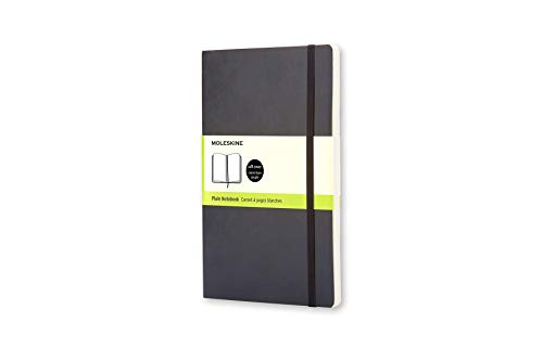 Moleskine Notizbuch, Pocket, A6, Leer, Soft Cover, Schwarz (Soft-cover-tasche-notebook)