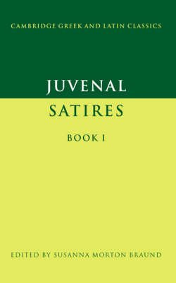 [(Juvenal: Satires Book I: Bk. 1)] [By (author) Juvenal ] published on (April, 1996)