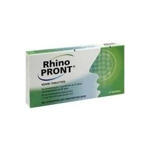 RhinoPront Kombi Tabletten, 12 St