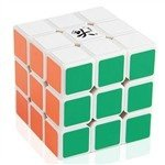Dayan 5 ZhanChi 3x3x3 Speed Cube White  available at amazon for Rs.499