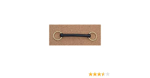 Grafton Nylon Snaffle with Brass Rings
