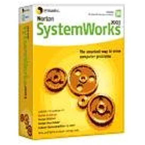 Symantec Nrt SystemWorks 2003 v6 EN CD W32 - Seguridad y antivirus (PC, 150 MB, 128 MB, Intel Pentium, Windows XP Home Edition/ Professional, Windows 2000 Professional, Windows Me/98)