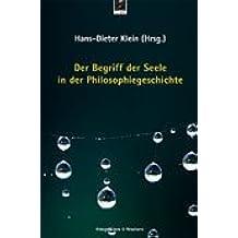 Der Begriff der Seele in der Philosophiegeschichte