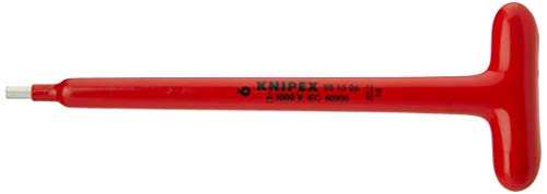 KNIPEX 98 15 06 Schraubendreher für Innensechskantschrauben mit T-Griff 250 mm