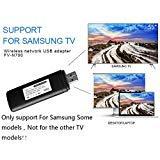 Fastering 1x Nuovo Mini 300Mbps 2.4–5GHz WIS12ABGNX WIS09ABGN Wireless LAN Adattatore WiFi USB Adattatore per Samsung Smart TV 802.11a/b/g/n