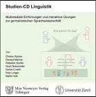 Studien-CD Linguistik. CD-ROM: Multimediale Einführungen und interaktive Übungen zur germanistischen Sprachwissenschaft