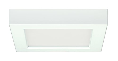 Satco Products S9327 Blink Flush Mount LED Fixture, 10.5W/5, White by Satco (Flush-modell Mount Flush)