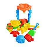 Zantec Strandspielzeug multicolor gemischt (Netztasche) (Shell Lkw)