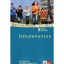 Découvertes / Cahier d'activités mit Sprachtrainer Kommunikation - Band 3