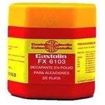 Decapante en polvo para soldadura fuerte 6103FX de Castolín