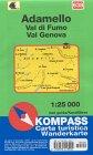 Carte touristique : Adamello, Val di Fumo, Val Genova