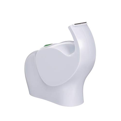 Scotch - Dispensador de diseño en forma de elefante, color blanco y 1 rollo de cinta adhesiva Scotch Magic de 19 x 8,89 m
