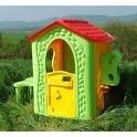 Kinderhaus. Spielhaus. Gartenhaus. Fantasy-Haus MEGA STABIL Maße ca. 100 x 125 x 135,5 cm