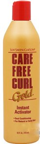 Softsheen Carson Care Free Curl Curl Gold Instant Activator 473ml