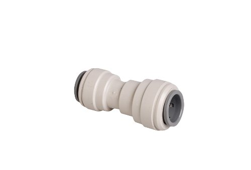 John Guest straight Reduce connector 1/4 PF (quick connect) x 3/8 PF Speed fittings for water filters, reverse osmosis systems, vending machines, Side by side refrigerators by Straight reducer 1/4 x 3/8 - Fit Reducer