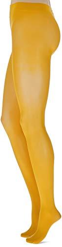 FALKE Damen Strumpfhosen Matt Deluxe 30 DEN, Transparente, Matt, 1 Stück, Orange (Mandarin 8216), Größe: L - 2