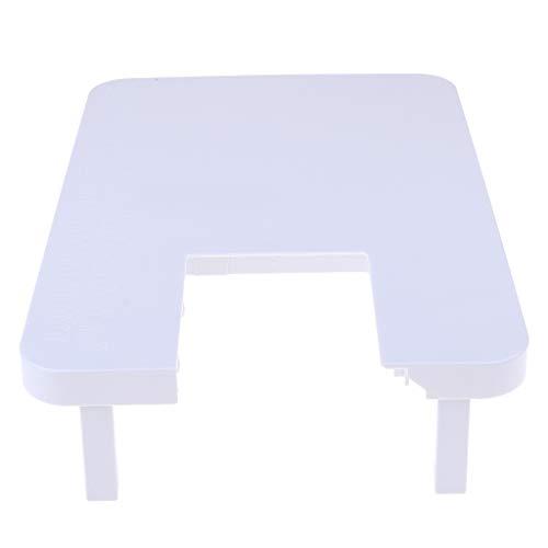 Baoblaze Table De Rallonge en Plastique Table Portable pour Fanghua 508 Blanc