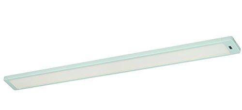 Instalux Neptune LED Unterbauleuchte, Aluminium^Glas, 10 W, Weiß, 60 x 6 x 1.2 cm -