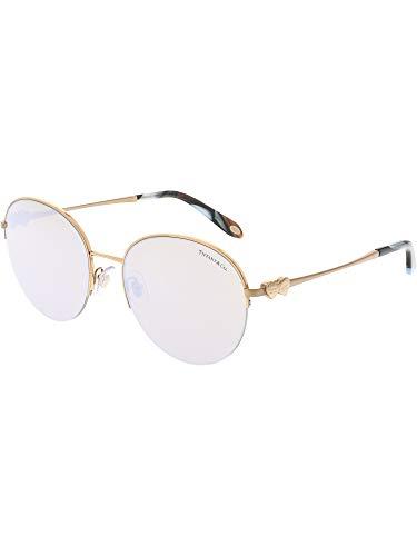 Tiffany & Co. Damen 0TY3053 610964 56 Sonnenbrille, Rot (Rubedo/Brownmirrorwhite),