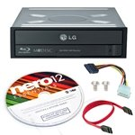 LG UH12NS30 12X SATA Internal Blu-ray Combo Reader Drive & M-DISC DVD CD w/3D PlayBack Burner ReWriter + Nero 9 Essential Software + SATA Cable + IDE to SATA Power Adapter  available at amazon for Rs.9099
